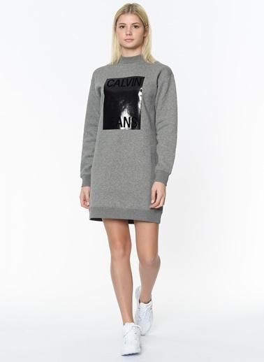 Calvin Klein Elbise Gri